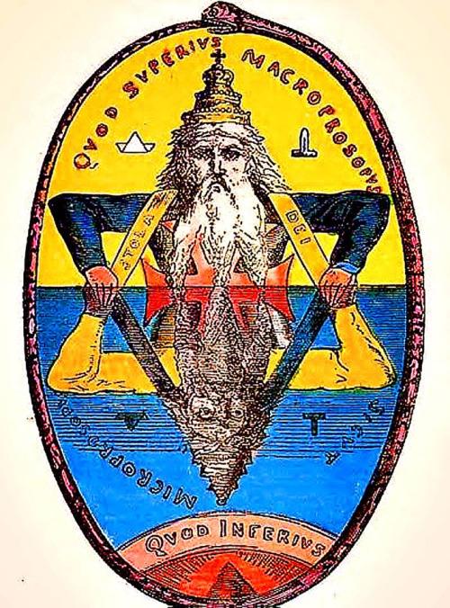 """Selo de Salomão, o rei Mago judeu , do qual há uma conhecidíssima obra """"As clavículas de salomão"""" Grimórium de magia."""