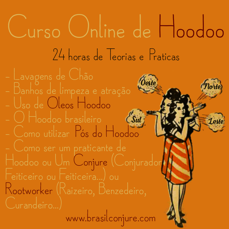 Curso Online de Hoodoo
